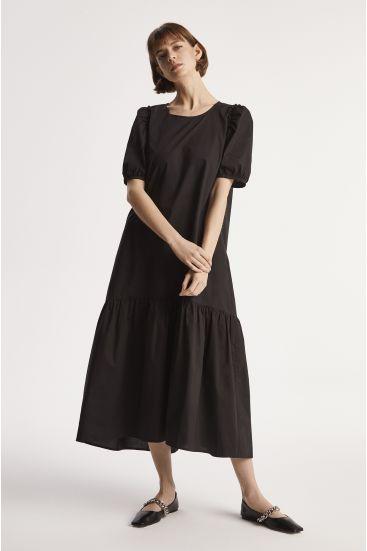 Sukienka z bawełny paper touch