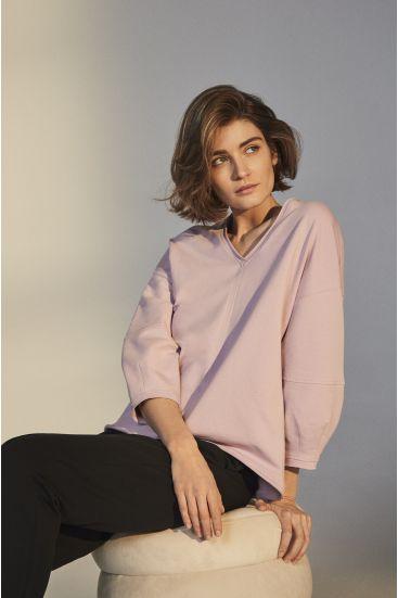 Bluza z bawełny organicznej