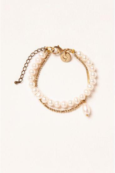Bransoleta z perłami