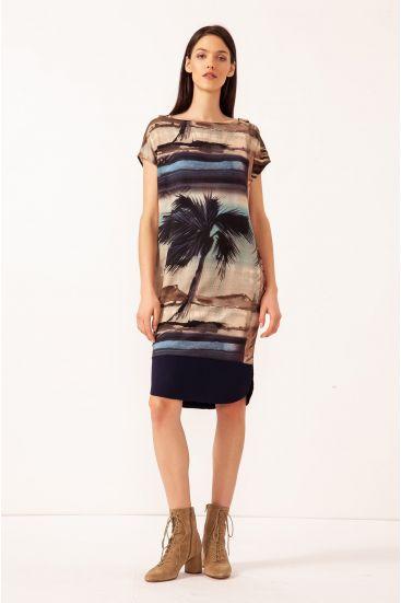 Sukienka z wiskozy