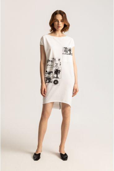 Sukienka z bawełny