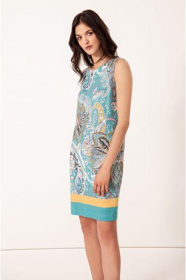 Sukienka z wzorem paisley