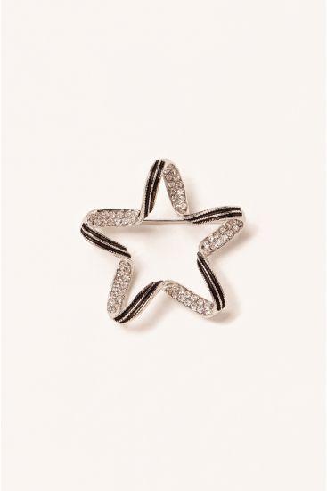 Broszka w kształcie gwiazdy