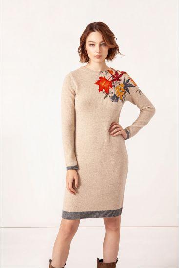 Wełniana sukienka