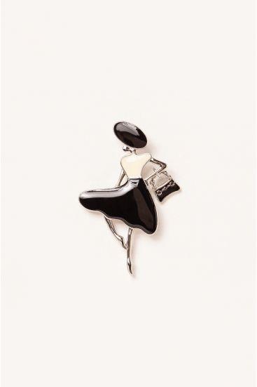 Biżuteryjna broszka