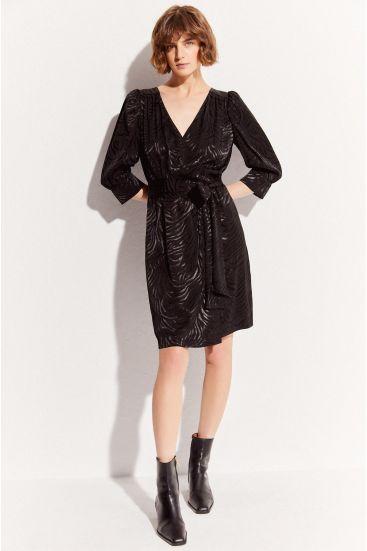 Sukienka mini z bufkami