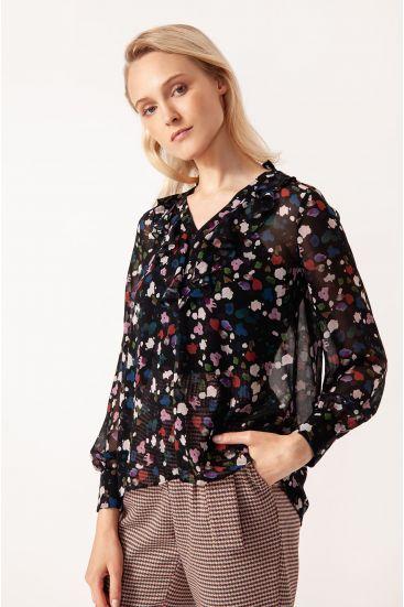 Transparentna bluzka