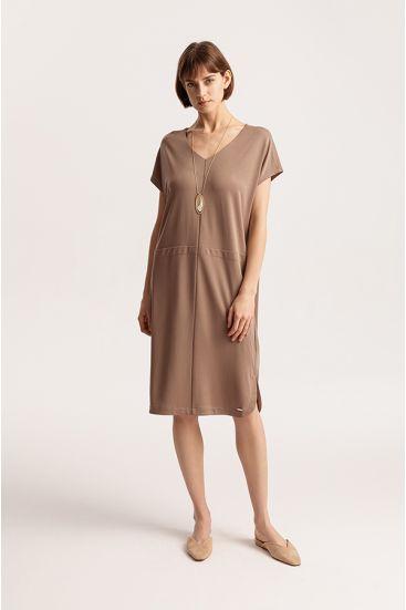 Sukienka z modalu
