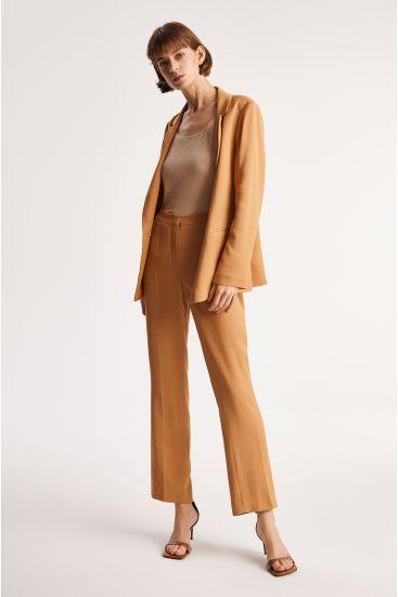 Spodnie garniturowe z wiskozy