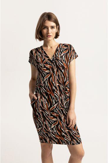 Sukienka ze wzorem