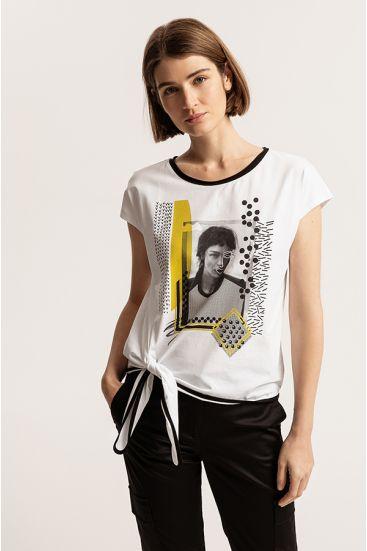 T-shirt z autorską grafiką