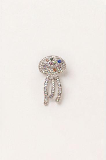 Broszka meduza