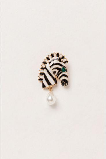 Broszka zebra