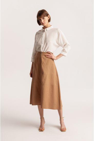 Spódnica z wiskozy
