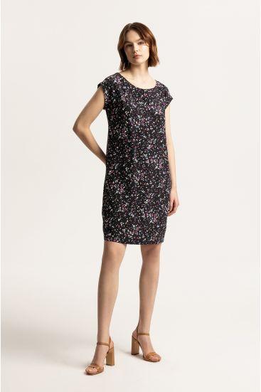 Sukienka ze wzorem lastriko