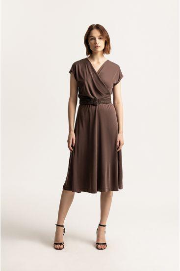 Sukienka kopertowa