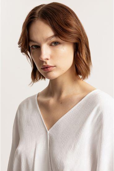 Koperowa bluzka