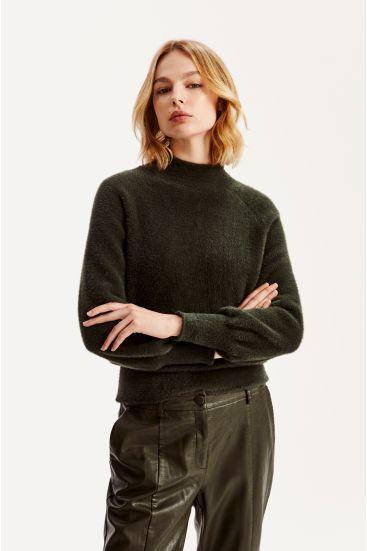 Sweter z bufkami