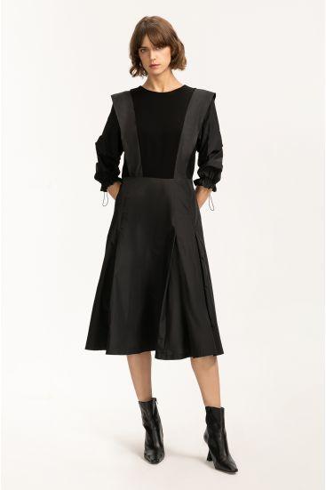 Geometryczna sukienka midi