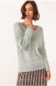 Melanżowy sweter