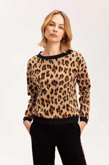 Bluza w zwierzęcy wzór