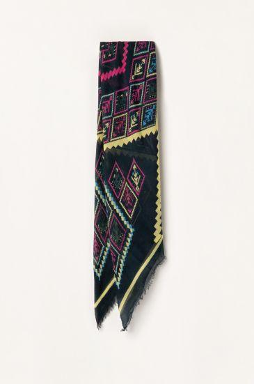 Chusta w aztecki wzór